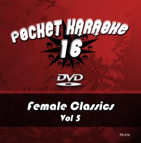 Pocket Karaoke Vol 16 - Female Classics Vol 5 (DVD)