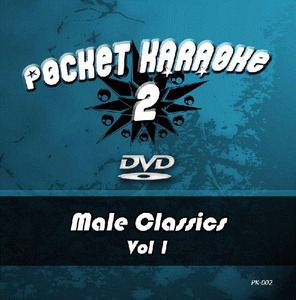 Pocket Karaoke Vol 02 - Male Classics Vol 1 (DVD)