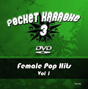 Pocket Karaoke Vol 03 - Female Pop Hits Vol 1 (DVD)