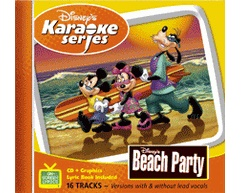 Beach Party Karaoke (CD+G)