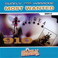 Sunfly Most Wanted 910 (CD+G)
