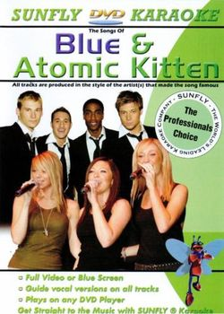 SUNFLY DVD - BLUE & ATOMIC KITTEN