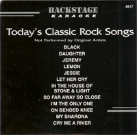 Today's Classic Rock Songs (CD+G)