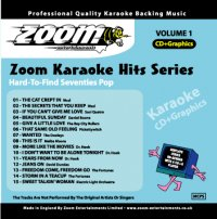 Zoom Karaoke Hits - Volume 01 (CD+G)