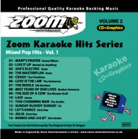 Zoom Karaoke Hits - Volume 02 CDG