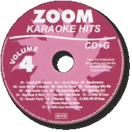 Zoom Karaoke Hits - Volume 04 (CD+G)