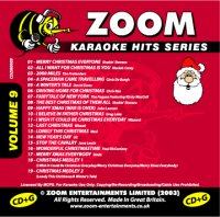 Zoom Karaoke Hits - Volume 09 (CDG)