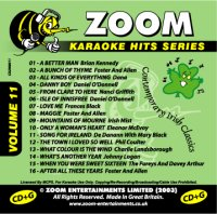Zoom Karaoke Hits - Volume 11 CDG