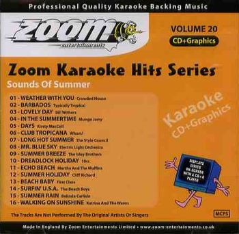 Zoom Karaoke Hits - Volume 20 (CD+G)