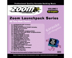 Zoom Karaoke Launchpack Series: All Time Male Classics (CD+G)