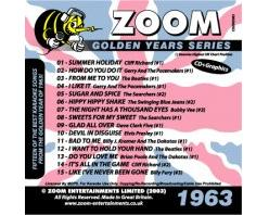 Zoom Golden Years 1963