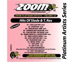 Zoom Karaoke Platinum Artists: Slade & T. Rex (CD+G)
