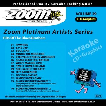 Zoom Karaoke The Blues Brothers (CD+G)
