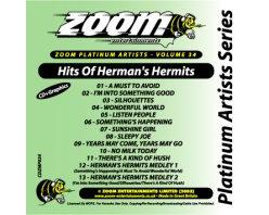 Zoom Karaoke Platinum Artists: Herman's Hermits (CD+G)