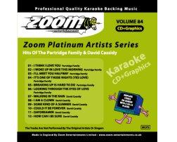 Zoom Karaoke Platinum Artists: Partridge Family & David Cassidy (CD+G)