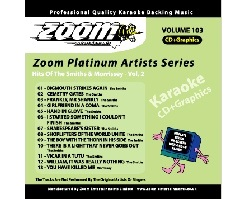 Zoom Karaoke Platinum Artists: Smiths & Morrissey Vol.2 (CD+G)