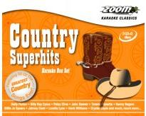Zoom Country Superhits Triple CD+G Set