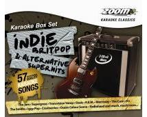 Zoom Karaoke Indie, Britpop & Alternative Superhits (CD+G)
