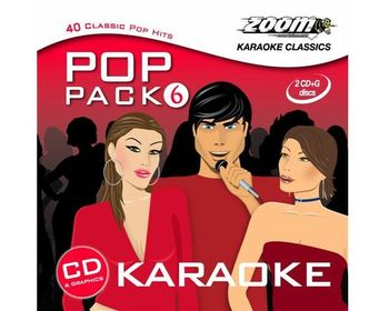 Zoom Karaoke Pop Pack 6 (2 CD+G's)
