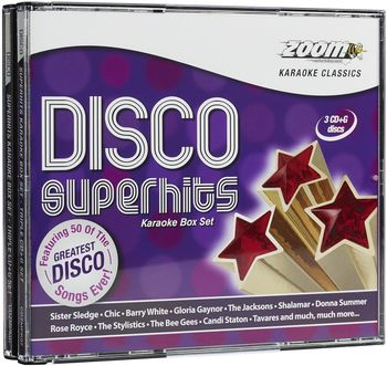 Zoom Karaoke Disco Superhits Set (CD+G)
