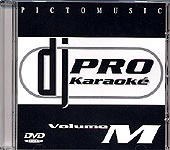 DVD PICTO MUSIC DJ PRO KARAOKE VOL.M