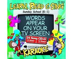 Sunday School (K-1) (CD+G)