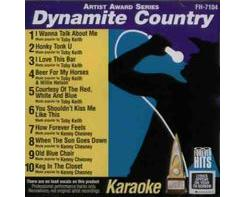 DYNAMITE COUNTRY (CD+G)