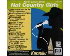 Hot Country Girls (CD+G)