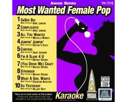 Most Wanted Female Pop CDG