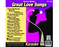 Great Love Songs CD+G