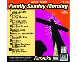 Family Sunday Morning CD+G