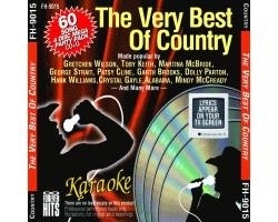 The Very Best Of Country (4 CDG Discs)