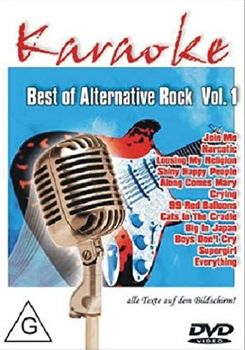 BEST OF ALTERNATIVE ROCK Vol. 1 (DVD)