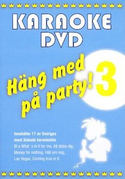 Häng Med På Party Vol 3 (DVD)
