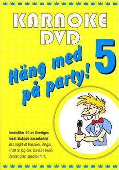 Häng Med På Party Vol 5 (DVD)