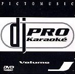 DVD Picto Music Dj Pro Karaoke Vol.J