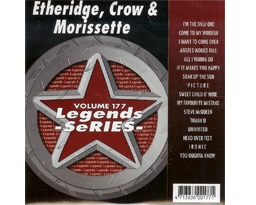 Etheridge, Crow & Morissette (CD+G)