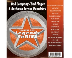 Bad Company / Bad Finger & Bachman Turner Overdrive (CD+G)