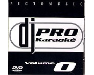 DVD PICTO MUSIC DJ PRO KARAOKE VOL.O