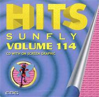 Sunfly Hits 114 (CD+G)