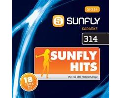 SUNFLY HITS 314 (CD+G)