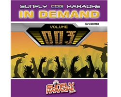 Sunfly In Demand 003 (CD+G)