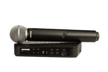 SHURE SM58 wireless single microphone set