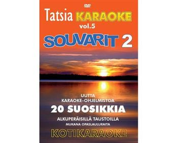 Tatsia Kotikaraoke Vol.05 - Souvarit 2 (DVD)