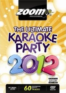 Zoom Karaoke The Ultimate Karaoke Party 2012 (2 DVD's)