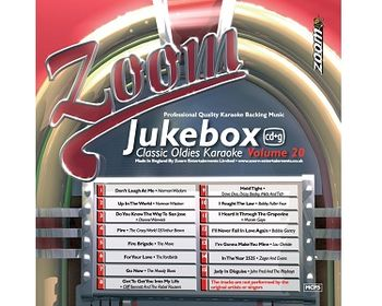 Zoom Karaoke Jukebox Classic Oldies Karaoke Vol 20 (CD+G)
