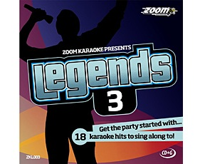 Zoom Karaoke Legends 3 (CD+G)