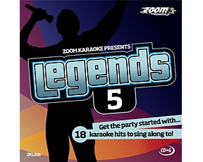 Zoom Karaoke Legends 5 (CD+G)