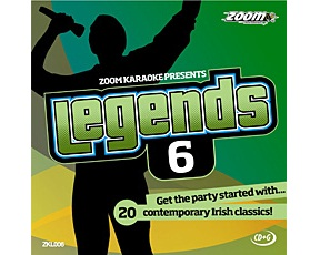 Zoom Karaoke Legends 6 (CD+G)