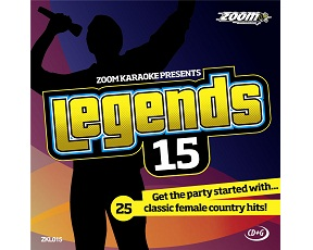 Zoom Karaoke Legends 15 (CD+G)